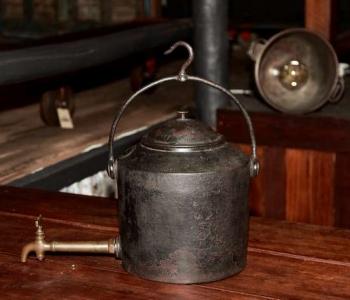 century-salvage-camp-fire-kettle-vintage-bricabrac